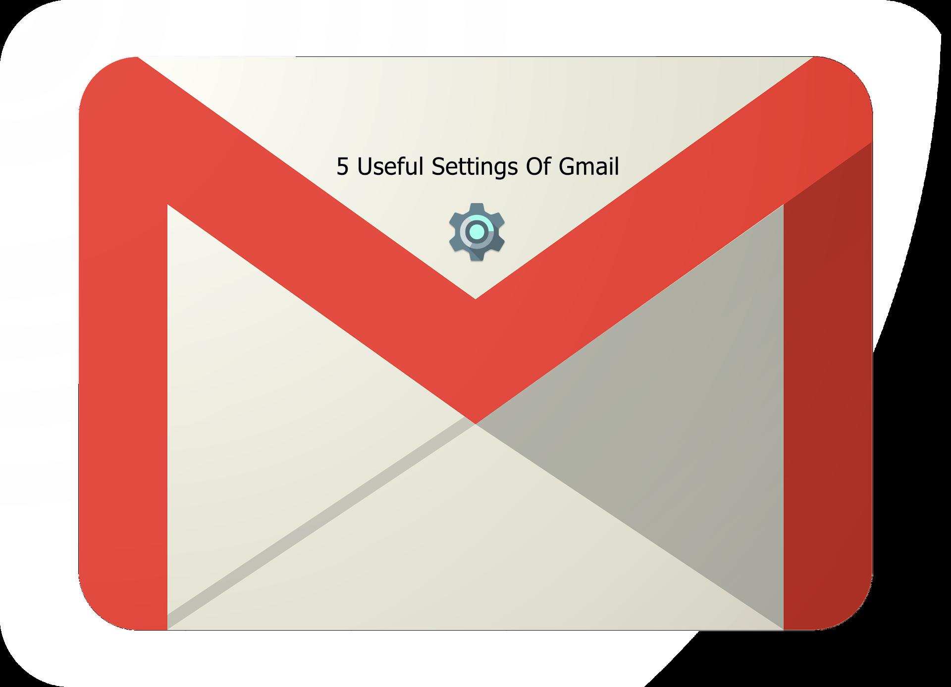 Five Useful Settings Of Gmail
