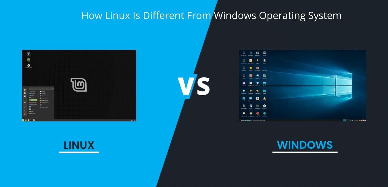 How Linux Is Different From Windows Operating System